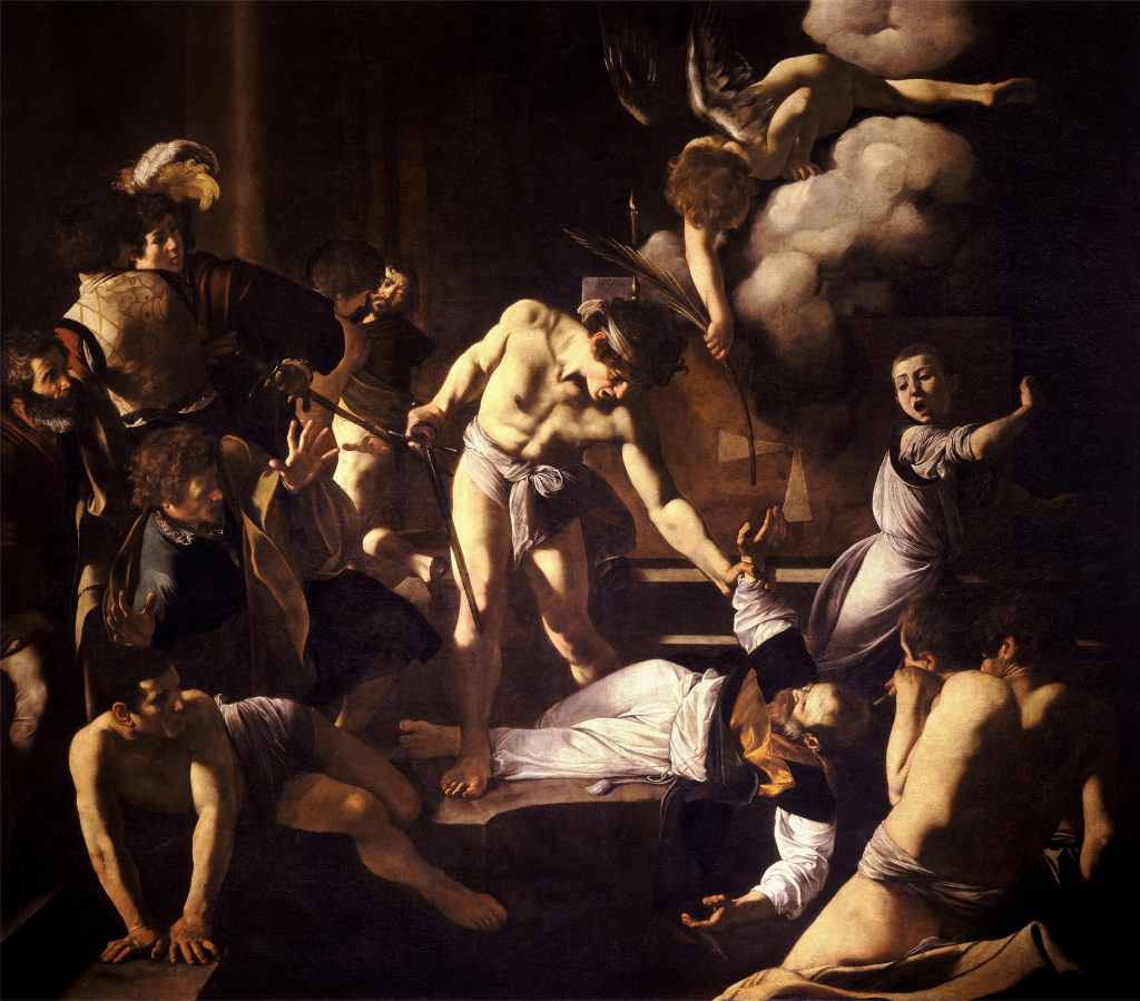 """CARAVAGGIO-AND-HIS-""""MARTYRDOM-OF-ST-MATTHEW"""":-AN-UNSOLVED-CASE-"""