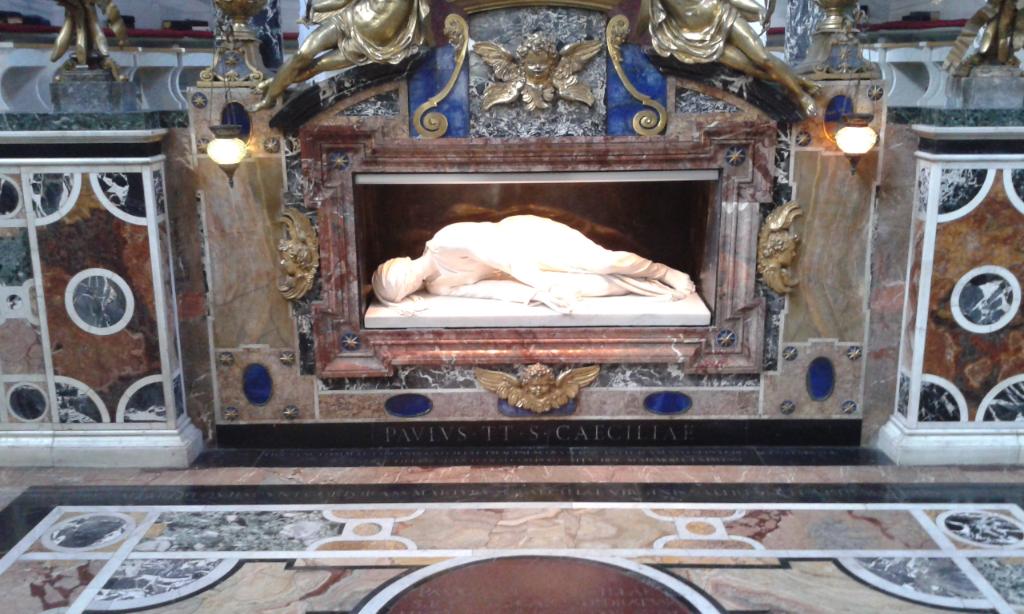 MORTE-E-BASILICA-DI-SANTA-CECILIA