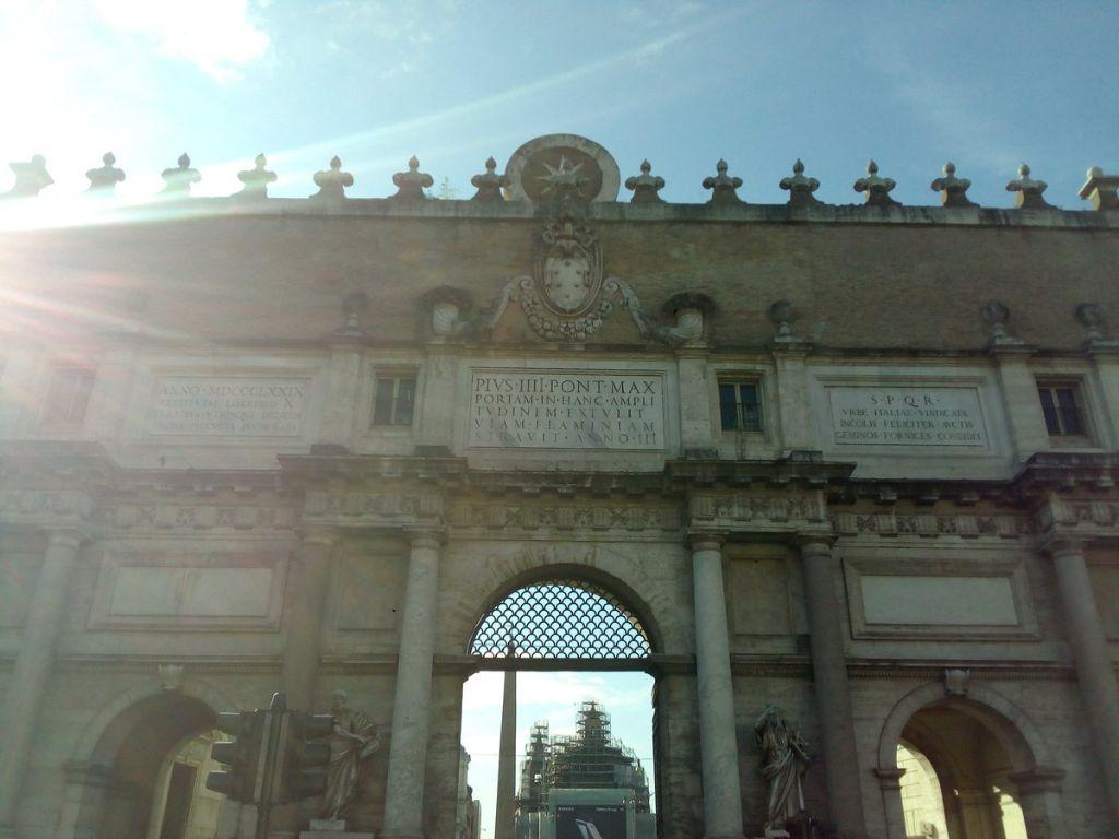"""""""PORTA-DEL-POPOLO"""":-THE-NORTHERN-GATE-OF-ROME"""